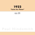Hindemith, 1922, Op.26-p01