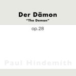 Hindemith, Der Dämon, Op.28 (arr for piano)-p01