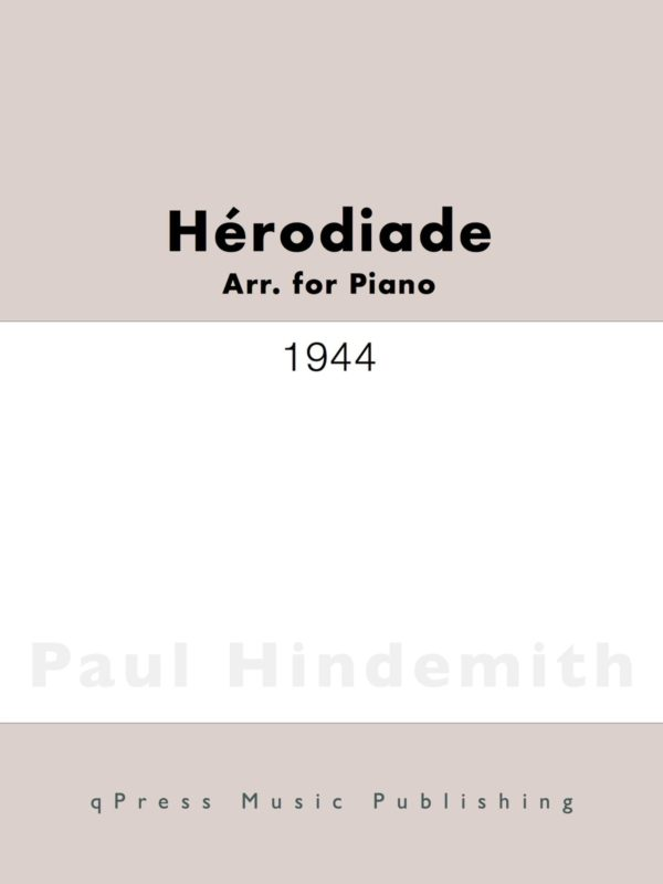 Hindemith, Hérodiade (arr for piano)-p01