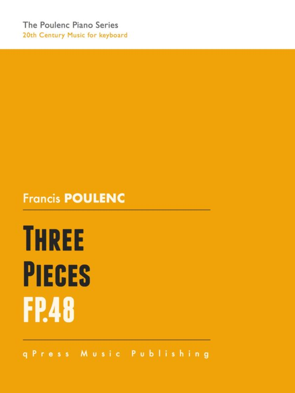 Poulenc, 3 Pièces, FP 48-p01