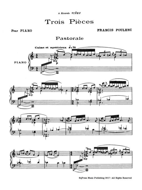 Poulenc, 3 Pièces, FP 48-p02