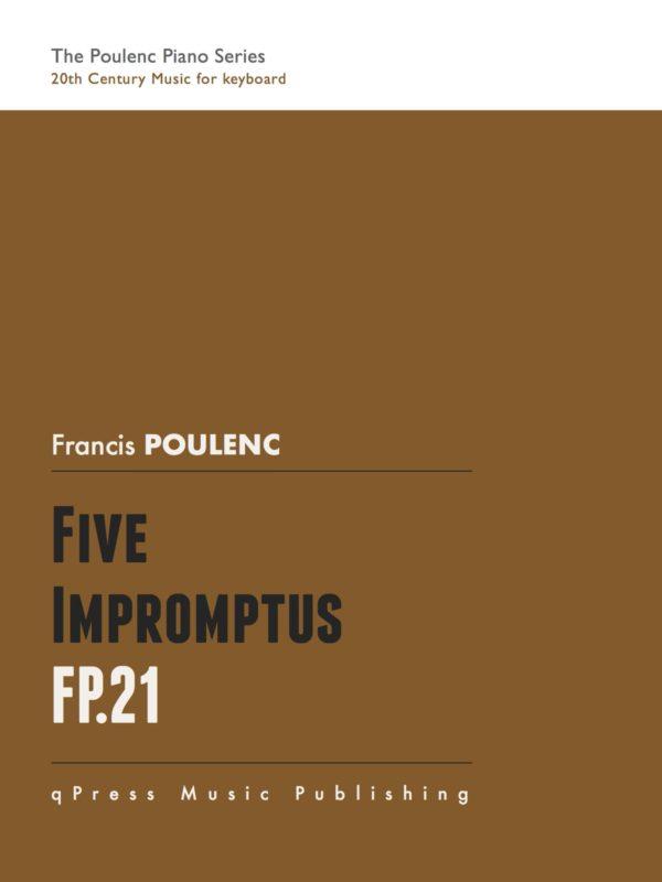Poulenc, 5 Impromptus, FP 21-p01