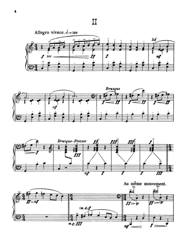 Poulenc, 5 Impromptus, FP 21-p04
