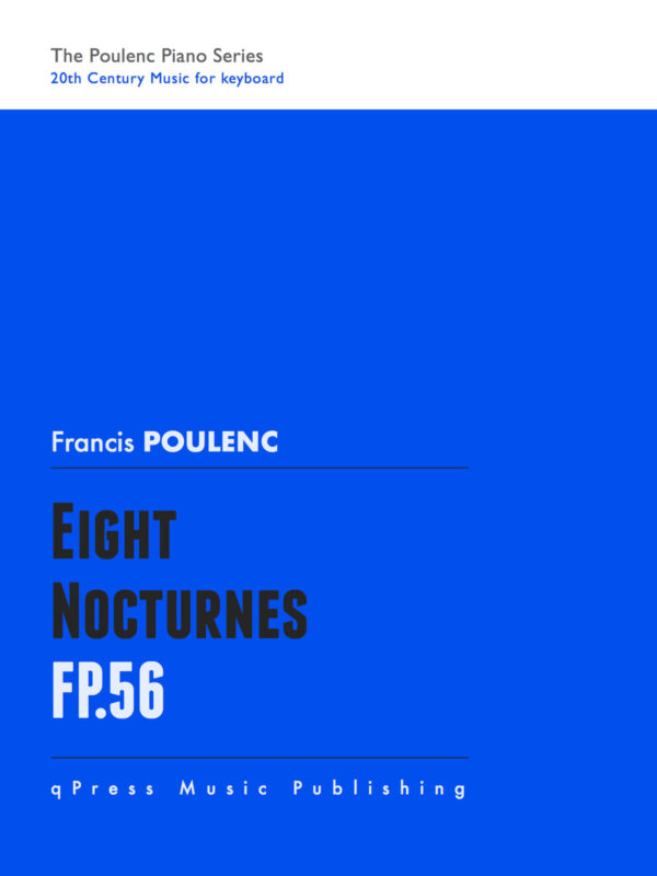 Poulenc, 8 Nocturnes, FP 56-p01