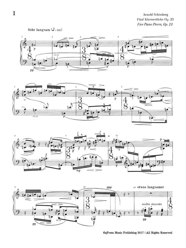 Schoenberg, 5 Pieces, Op.23-p02