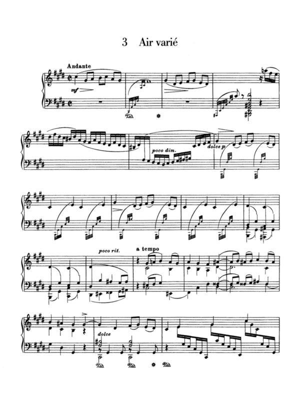 Sibelius, 10 Pieces for Piano, Op.58-p10
