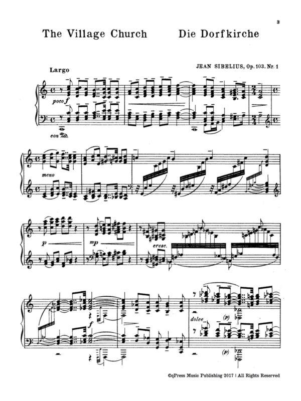 Sibelius, 5 Characteristic Impressions, Op.103-p03