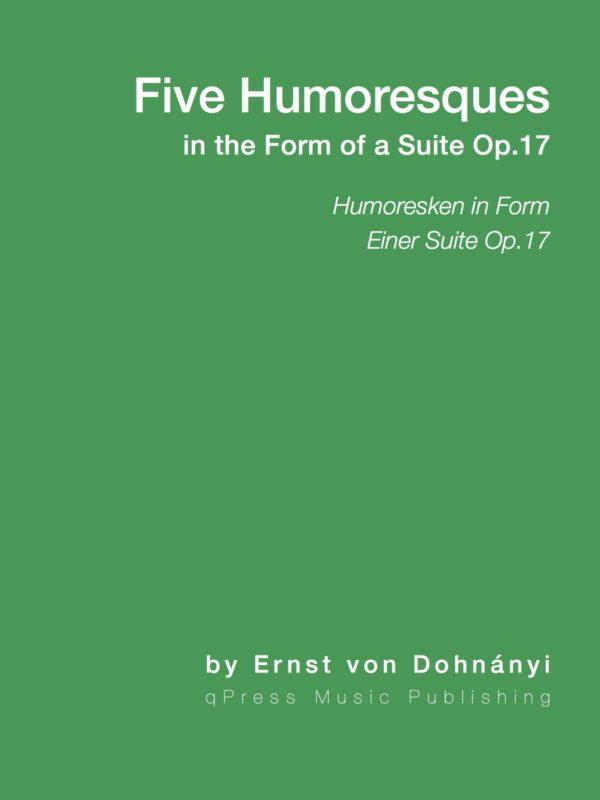 Dohnanyi, Humoresken in Form einer Suite, Op.17-p01