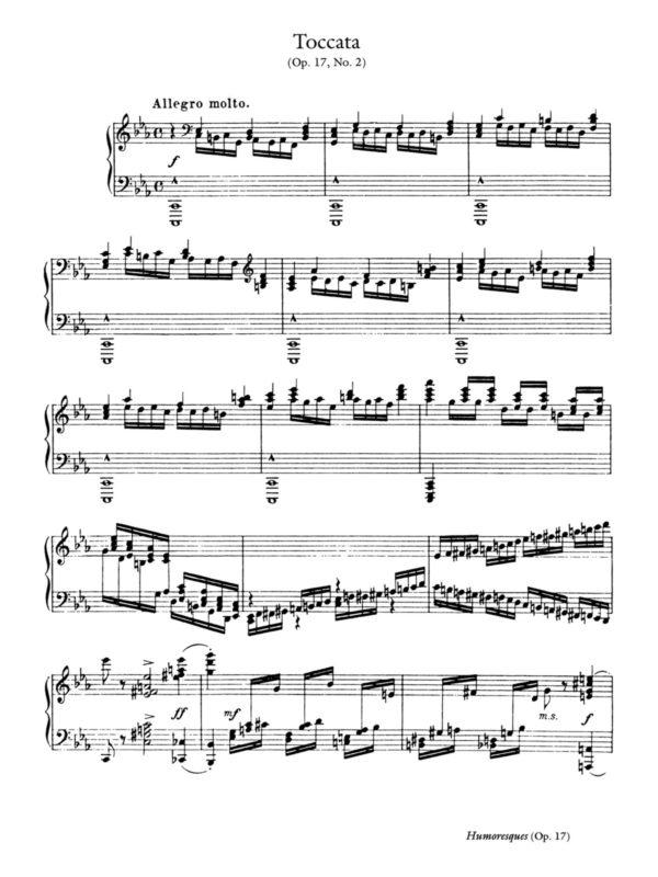 Dohnanyi, Humoresken in Form einer Suite, Op.17-p08