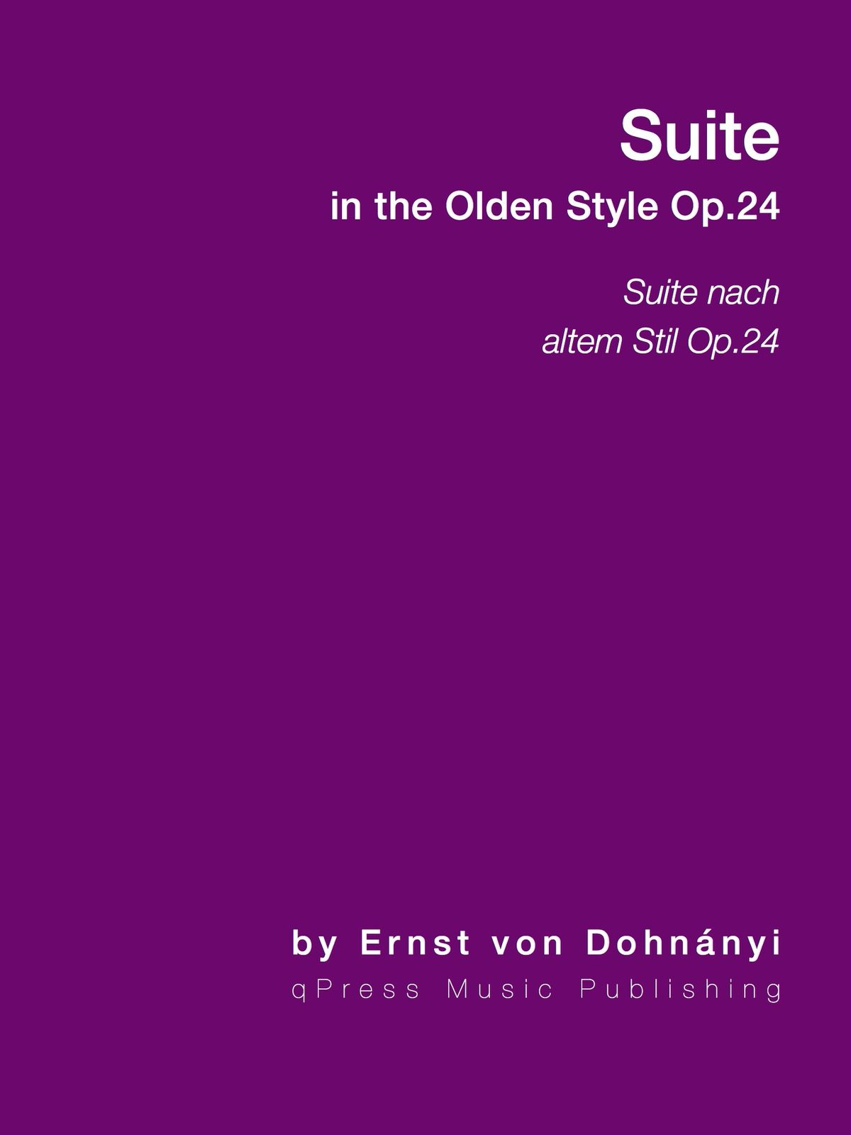 Dohnanyi, Suite in the Olden Style, Op.24-p01