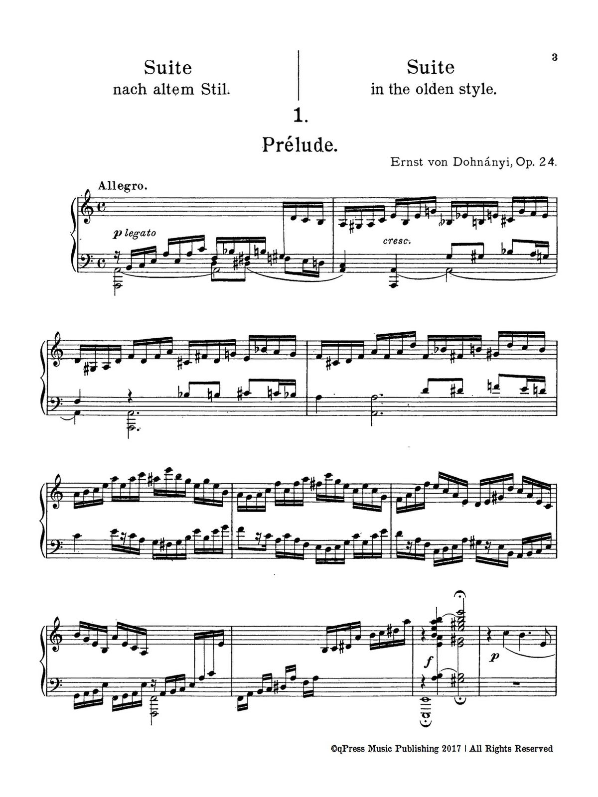 Dohnanyi, Suite in the Olden Style, Op.24-p03