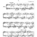 Gliere, 2 Esquisses, Op.40-p3