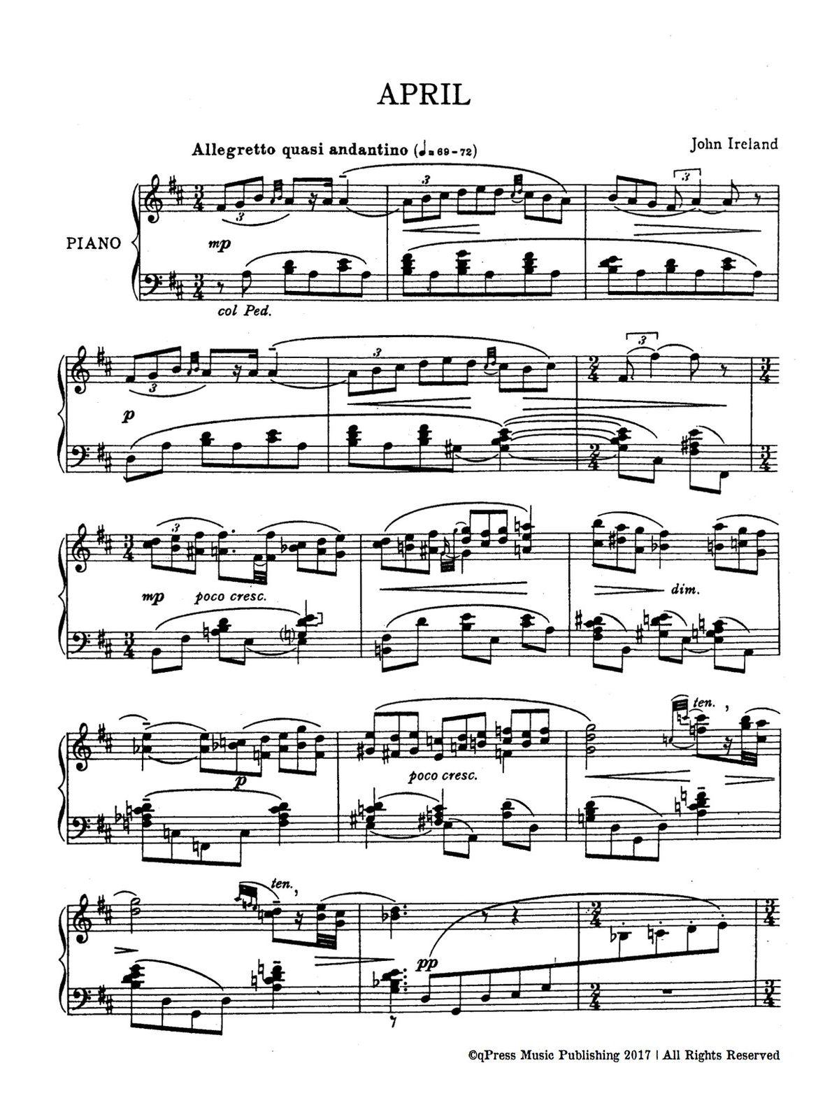 Ireland, 2 Piano Pieces-p02