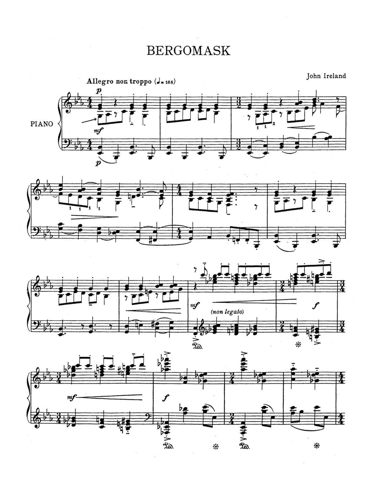 Ireland, 2 Piano Pieces-p07