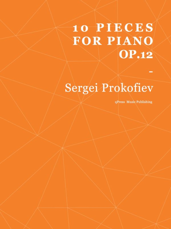 Prokofiev, 10 Pieces for Piano, Op.12-p01