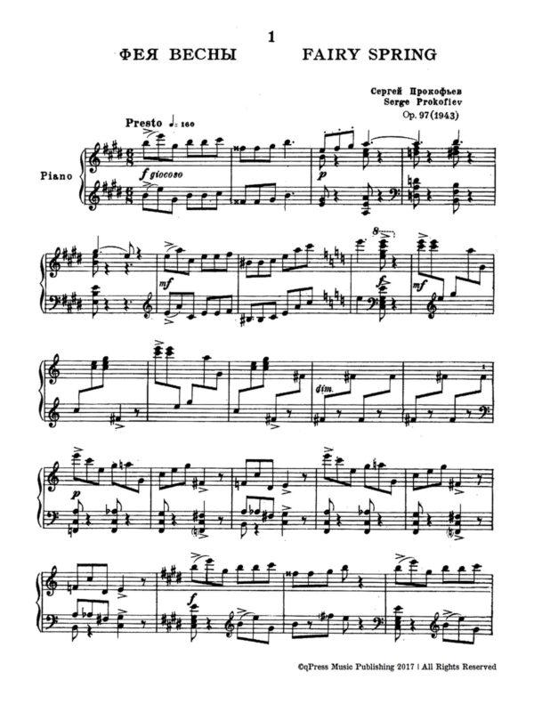 Prokofiev, 10 Pieces from Cinderella, Op.97-p02