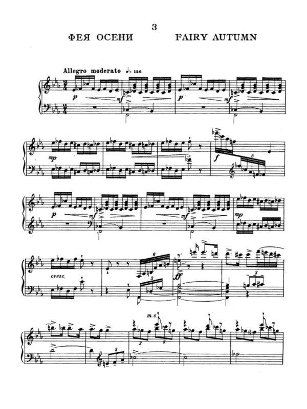 Prokofiev, 10 Pieces from Cinderella, Op.97-p07
