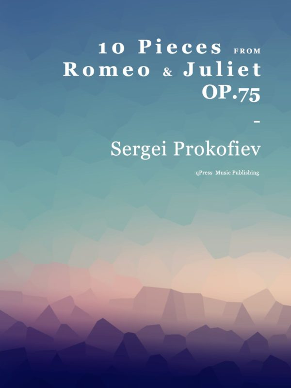 Prokofiev, 10 Pieces from Romeo and Juliet Op.75-p01