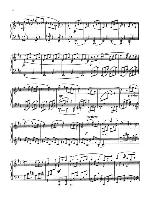 Prokofiev, 10 Pieces from Romeo and Juliet Op.75-p03