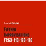 Poulenc, 15 Improvisations for Piano-p01
