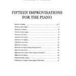 Poulenc, 15 Improvisations for Piano-p02