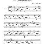 Poulenc, 15 Improvisations for Piano-p03