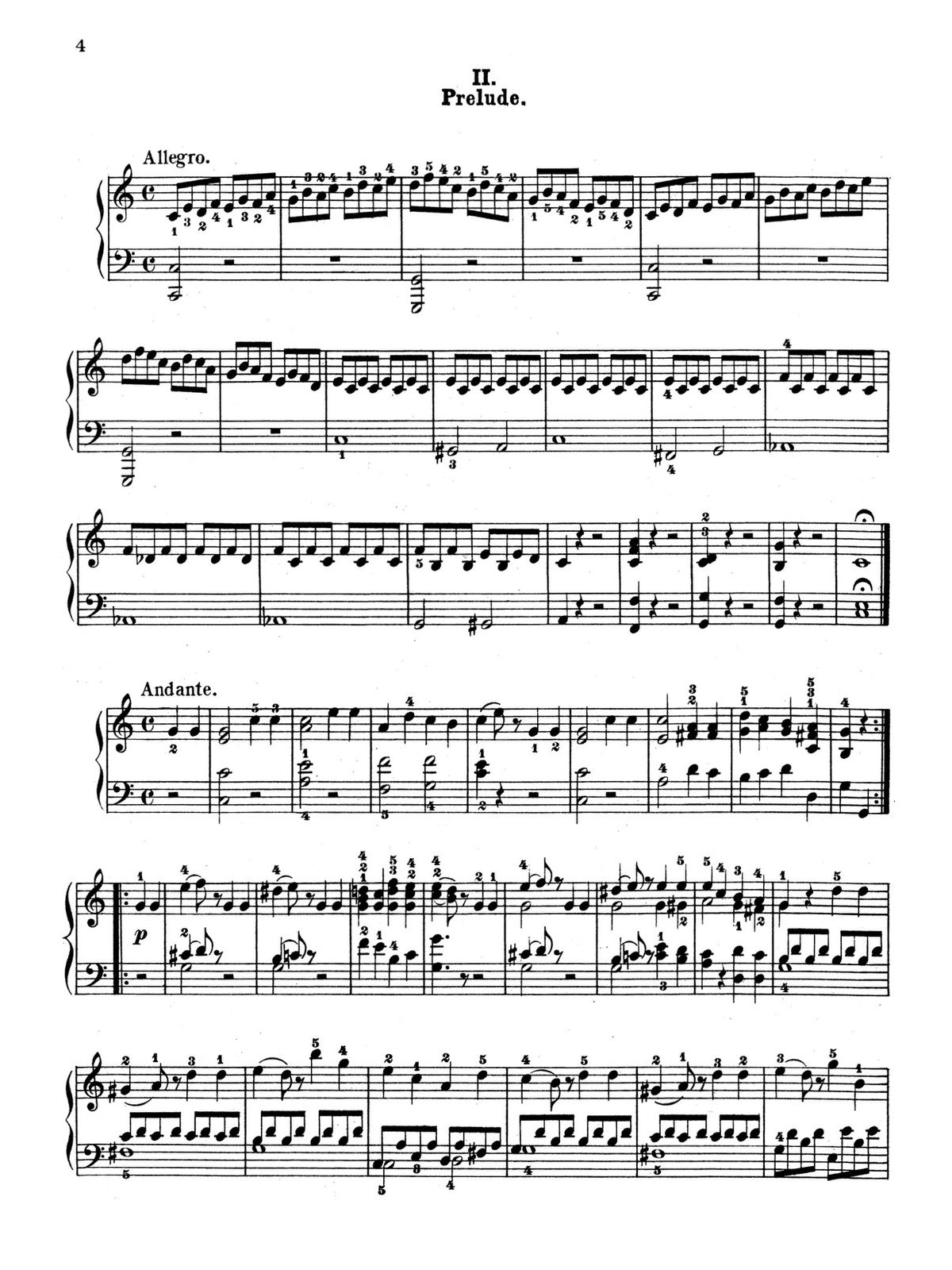 Bertini, 12 little Preludes and Pieces-p04