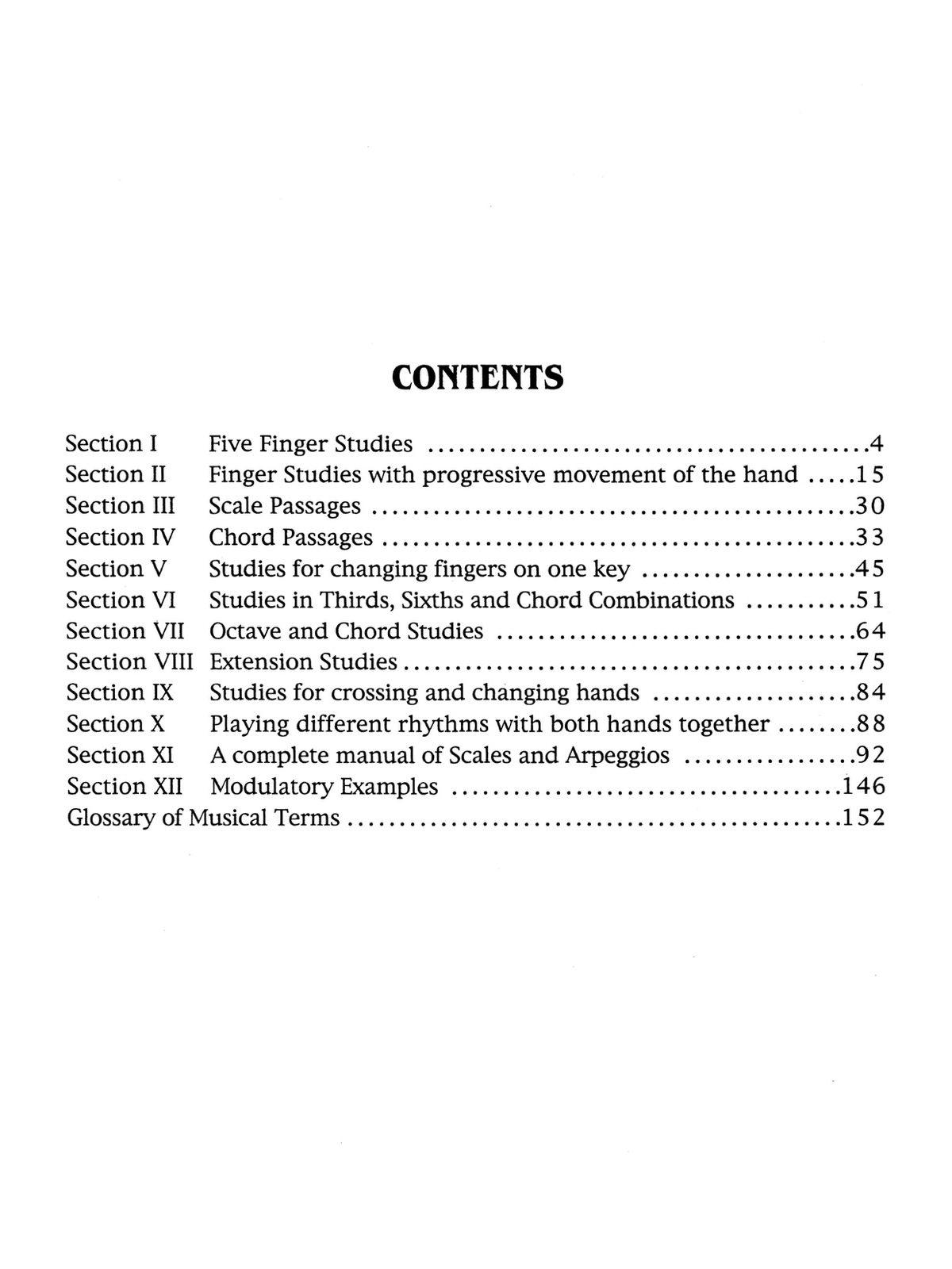 Beringer, Daily Technical Studies-p002