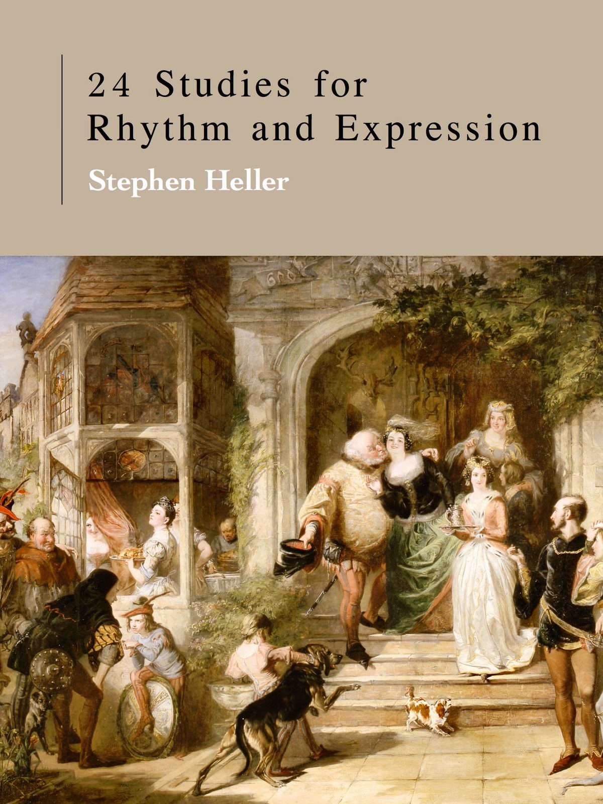 Heller, 24 Studies for Rhythm and Expression-p01