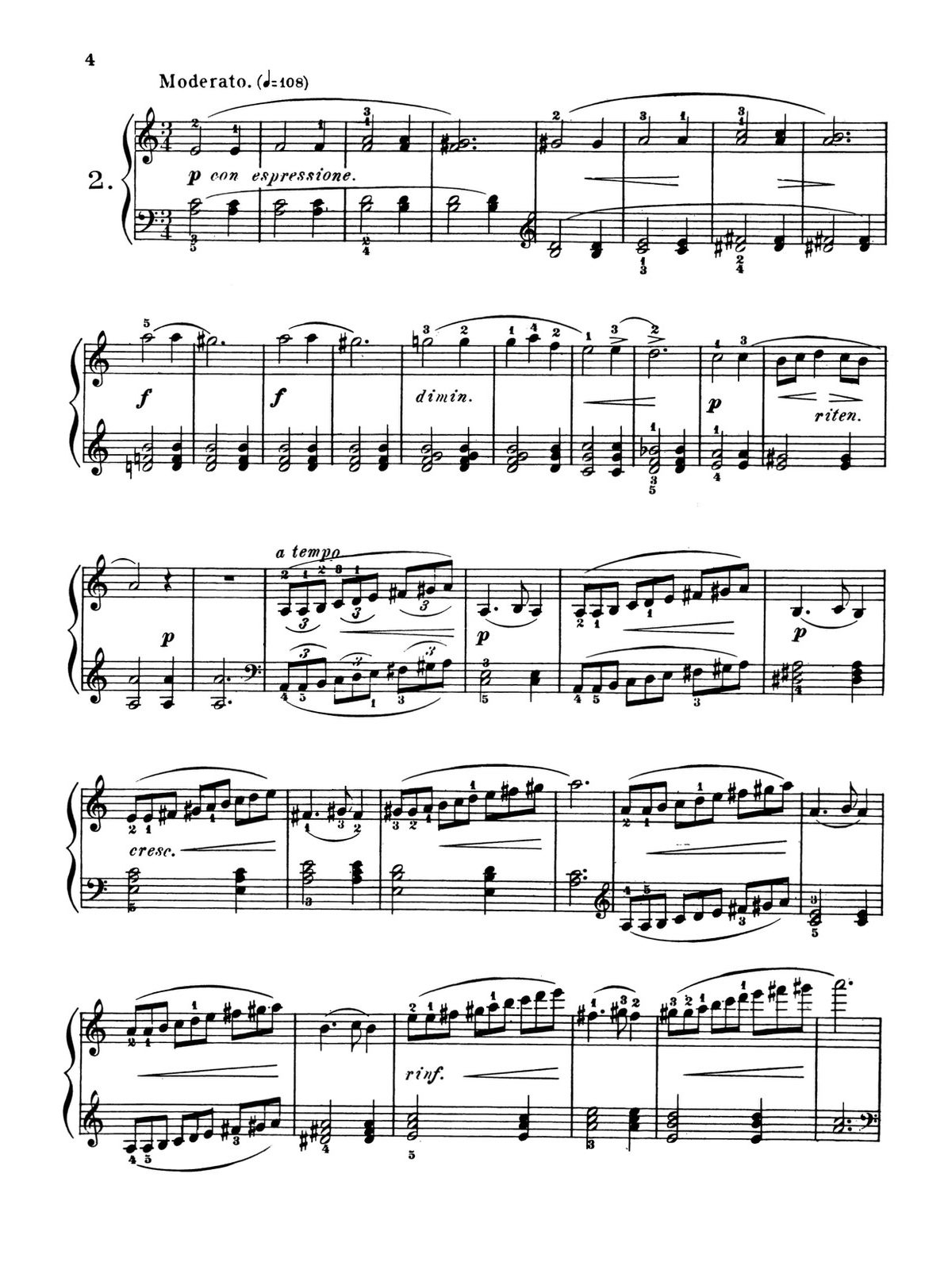 Heller, 24 Studies for Rhythm and Expression-p04