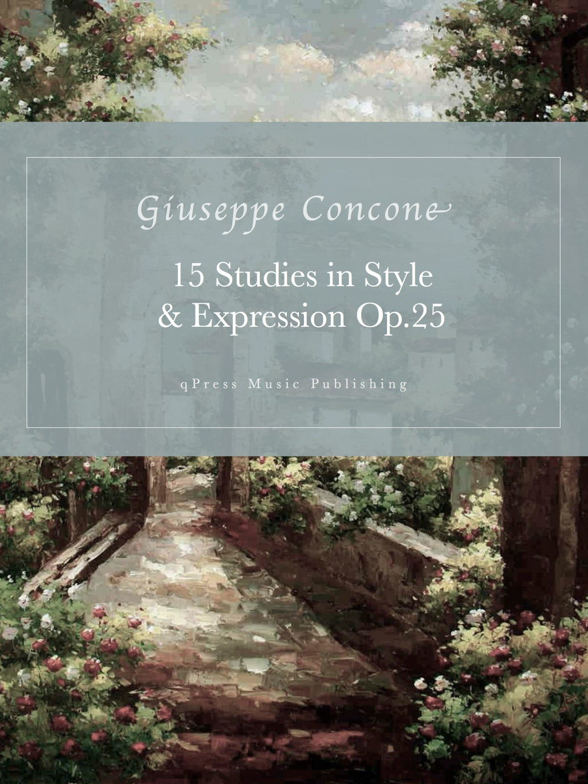 Concone, 15 Studies in Style and Expression, Op.25-p01