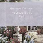 Concone, 25 Melodic Studies, Op.24-p01